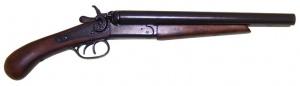 Макет Пистолет двухствольный, 1881 год США  | 1114