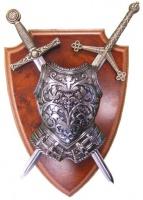 Панно: Кираса, мини-меч Экскалибур и мини-меч Тизона  | 506