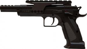Пистолет пневматический KWC Tanfoglio Gold Custom Blowback! 4,5 мм