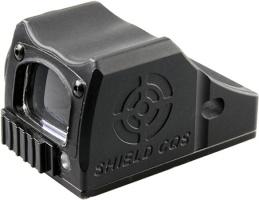 Прицел коллиматорный Shield CQS 2 MOA, металлический корпус с защитной крышкой