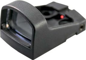 Прицел коллиматорный Shield SMS 4 MOA, пластиковый корпус, крышка, на батарейках
