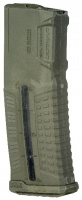 Магазин FAB Defense 5.56x45 НАТО (.223 Remington) M16 / M4 / AR15  с окном, полимерный, на 30 патронов, зеленый | ULTIMAG 30R