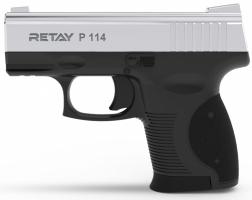 Пистолет сигнальный Retay P114, Nickel