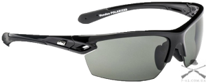 Очки солнцезащитные Optic Nerve Voodoo Shiny Black (Polarized Smoke)
